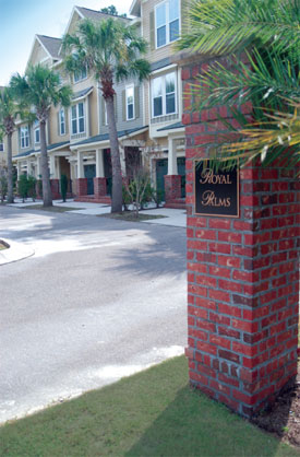 Royal Palms, townhomes in Mount Pleasant, South Carolina