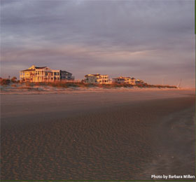 photo of the beach at Isle of Palms, SC